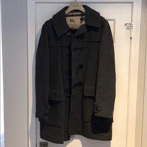 Burberry London Pea Coat - Gray